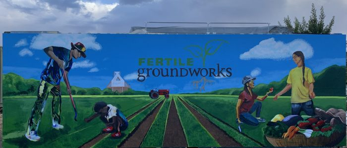 BB Club Donated a Mural Painting to Fertile Graoundworks